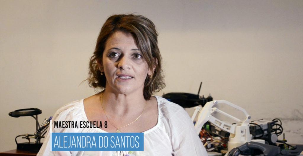 Entrevista con Alejandra Do Santos y Juan Cardelino en Hacklab Paysandú